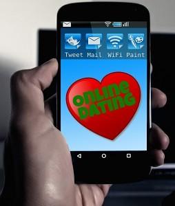 Her ses eksempel på en dating app.