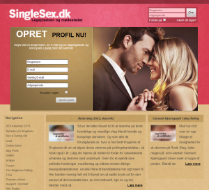Singlesex - sex i det fri